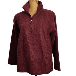 Kerrits 1/3 Zip Pullover Pull-on Riding Sweater L